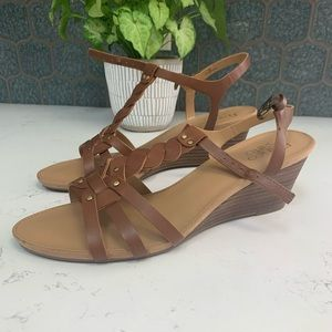 Franco Sarto Sandals Women's Durango Size 9 M